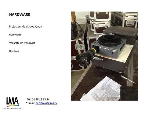 Projecteur de diapo Hardware