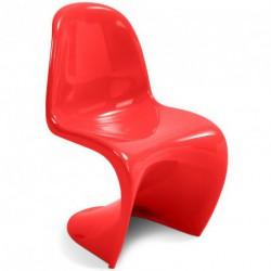 chaise-panton-rouge