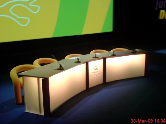 Desk bas Titanium 5 personnes