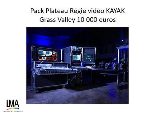 Pack régie Kayak Grass Valley