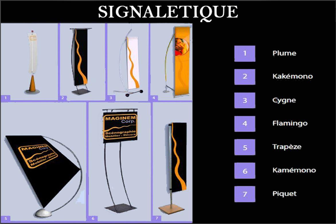 Support signalétique