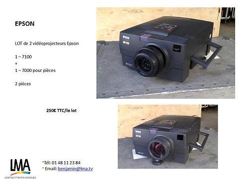 Lot Vidéo-projecteur Epson 7000