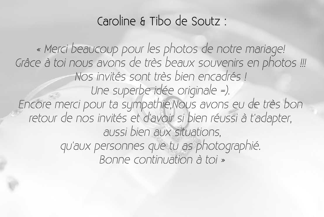 Caroline & Tibo
