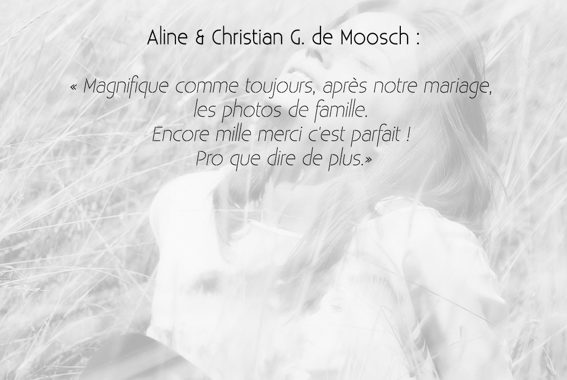 Aline & Christian G
