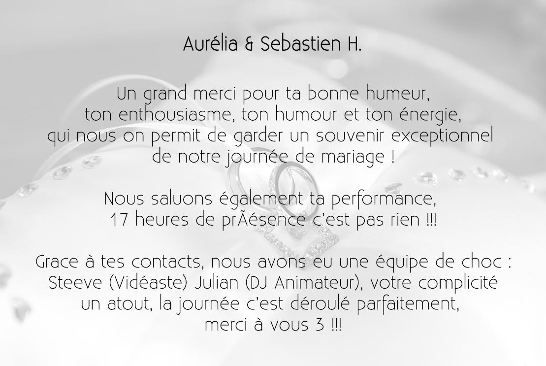 Aurélia & Sebastien