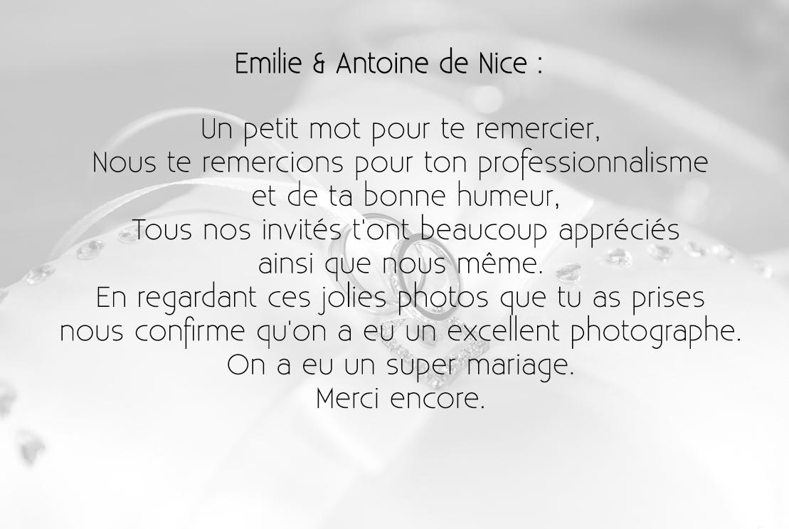 Emilie & Antoine