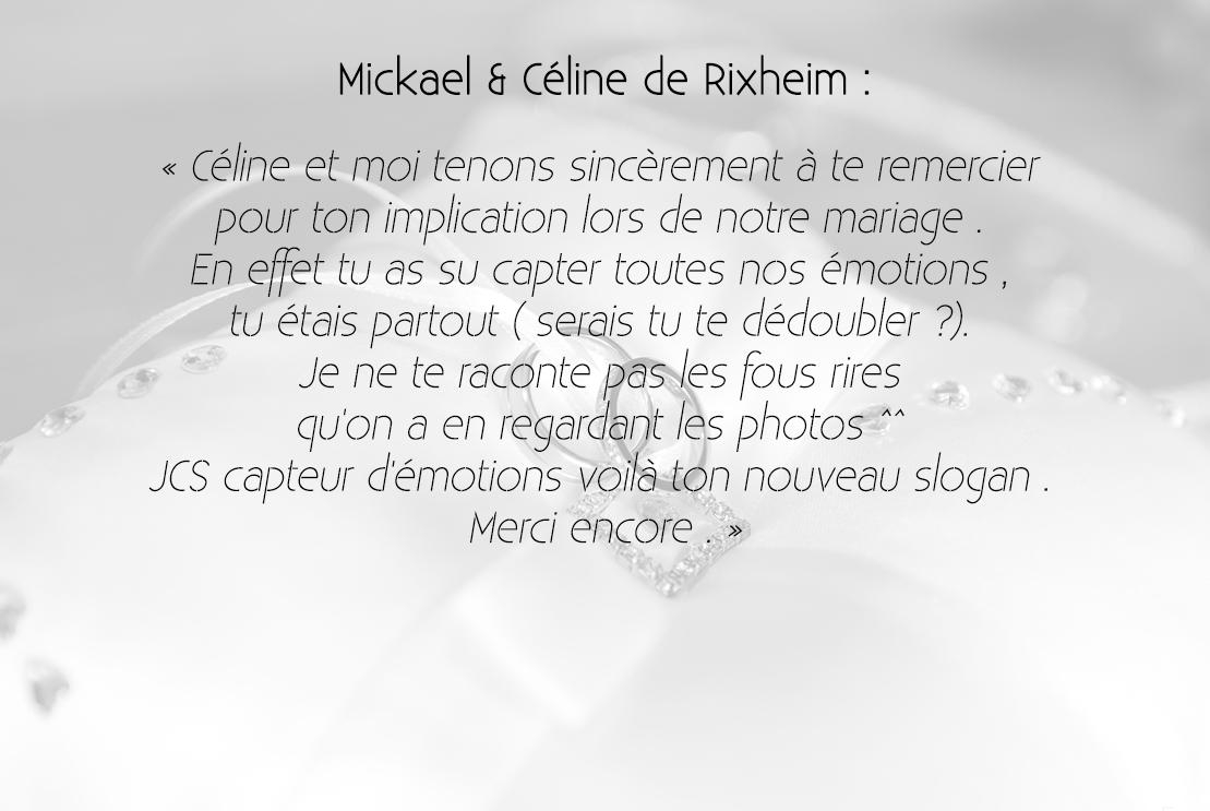 Céline & Mickael