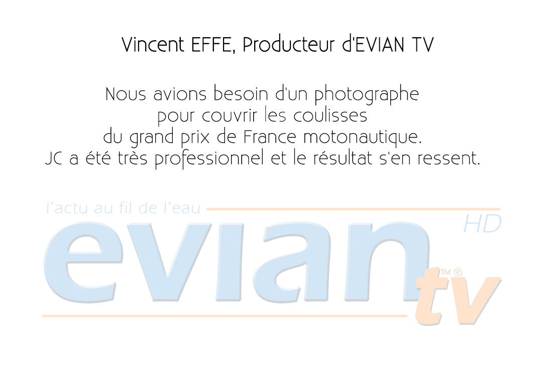 Evian TV