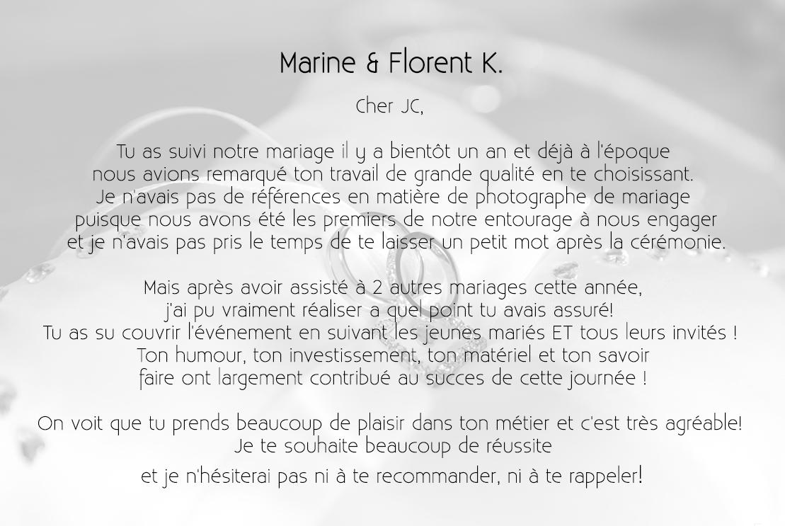 Marine & Florent