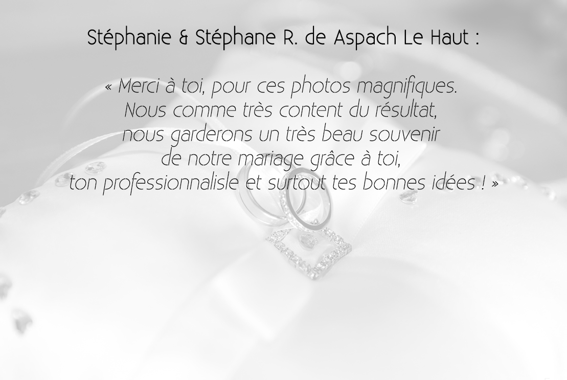 Stéphanie & Stéphane R
