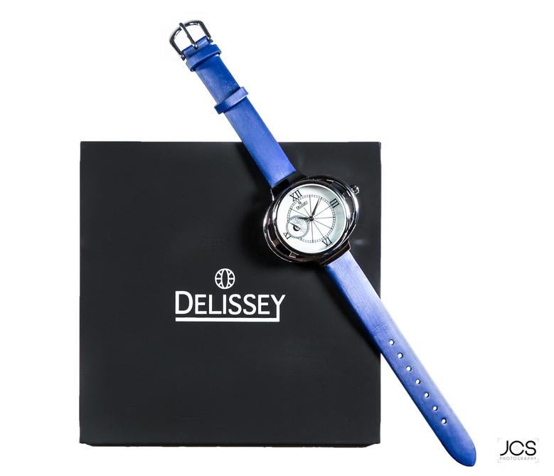Montre Delissey - Bleue + Coffret Debout.jpg