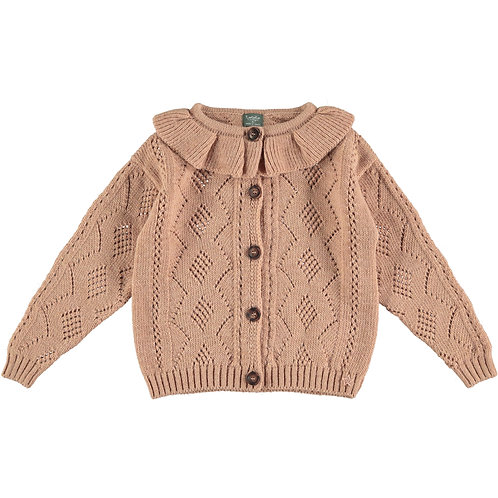 CARDIGAN CON COLLETTO | TOCOTO VINTAGE
