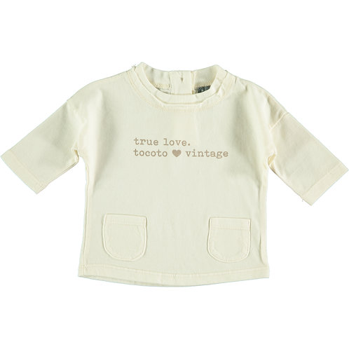 "BABY T-SHIRT ""TRUE LOVE"" 
