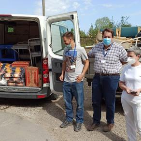 Donation to Vulcanesti Hospital