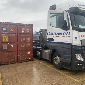 Container to Moldova
