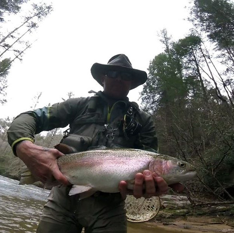 trophy water fly fishing