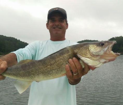 blue ridge lake walleye fishing