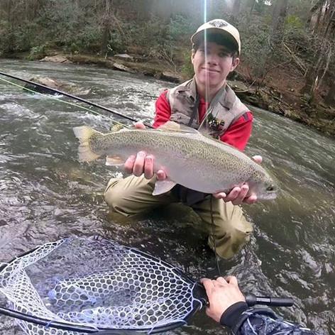 fly fishing ellijay ga