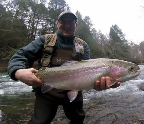 giant georgia rainbow trout