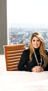 Tamar Arminak at her office desk