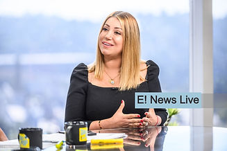 Tamar on E! News Live