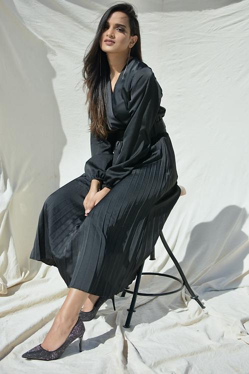 JET BLACK DRESS