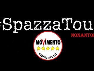 """Il M5S di Nonantolalancia l'iniziativa """"SpazzaTour, ripuliamo la città"""""""
