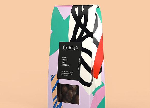 Delicious COCO Dark Chocolate Giant Raisins - Vegan
