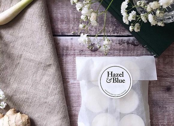 Uplifting Bergamot & Amber Tea Light (Pack of 4)