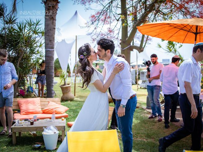 אריאלה ואלכס - חתונה בימי קורונה