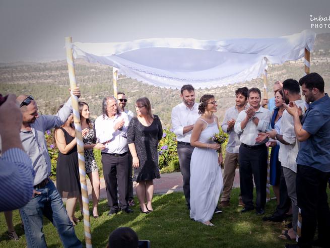 ענבל ווודים - חתונה קטנה בהר