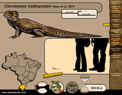 Clevosaurus hadropodon