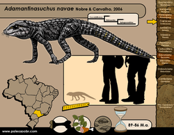Adamantinasuchus navae