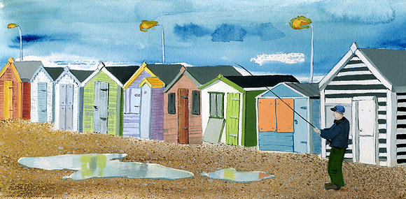 Beach Huts - St Leonards