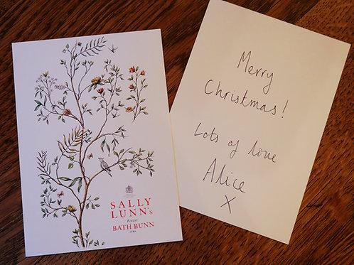 Gift Card & Handwritten Message