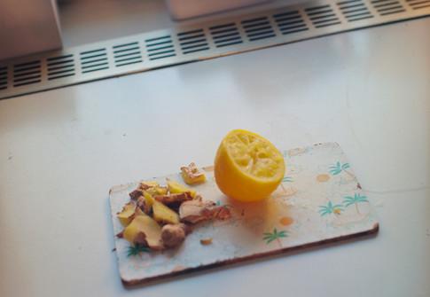 Lemon & ginger, 2014