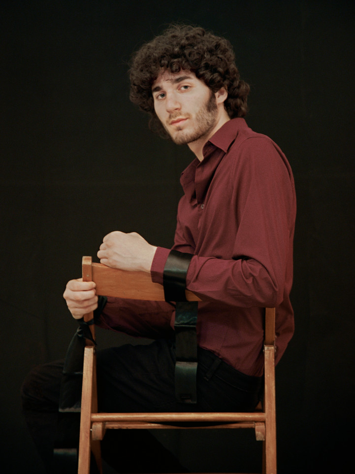 Sitting on a chair, 2010