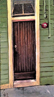 Wooden Door on Main