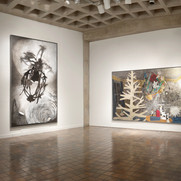 Installation view, Hampden Gallery, 2013