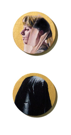 Shadowed (diptych)