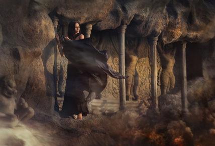 Terrula Nobilis la saga. L'enchanterresse Miralis en son royaume.