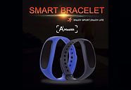 Wearable Health Trackers Blood Pressure Step Counter Heart Rate Monitor
