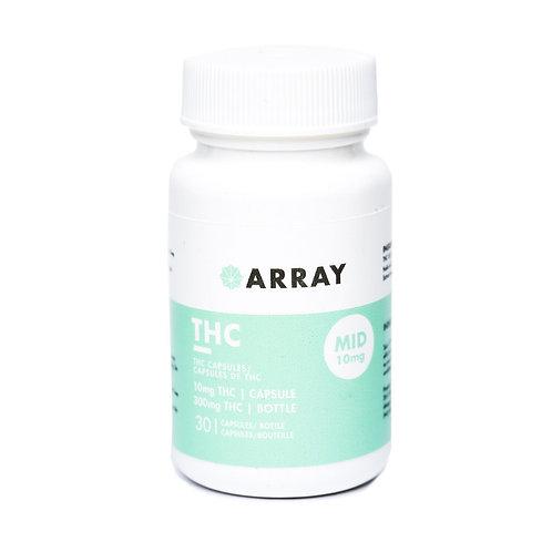 Array THC Capsules (10mg THC – 30 caps)