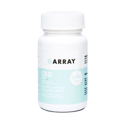 Array CBD Capsules (5mg CBD – 30 caps/bottle)