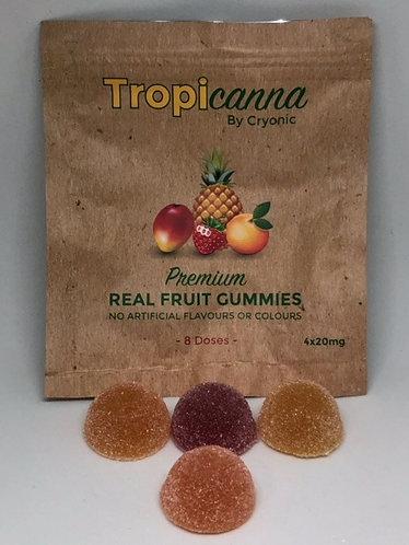 Tropicanna Real Fruit Gummies