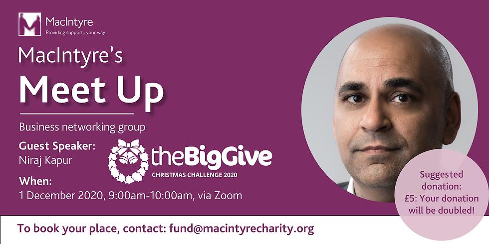 MacIntyre Big Give Meet Up