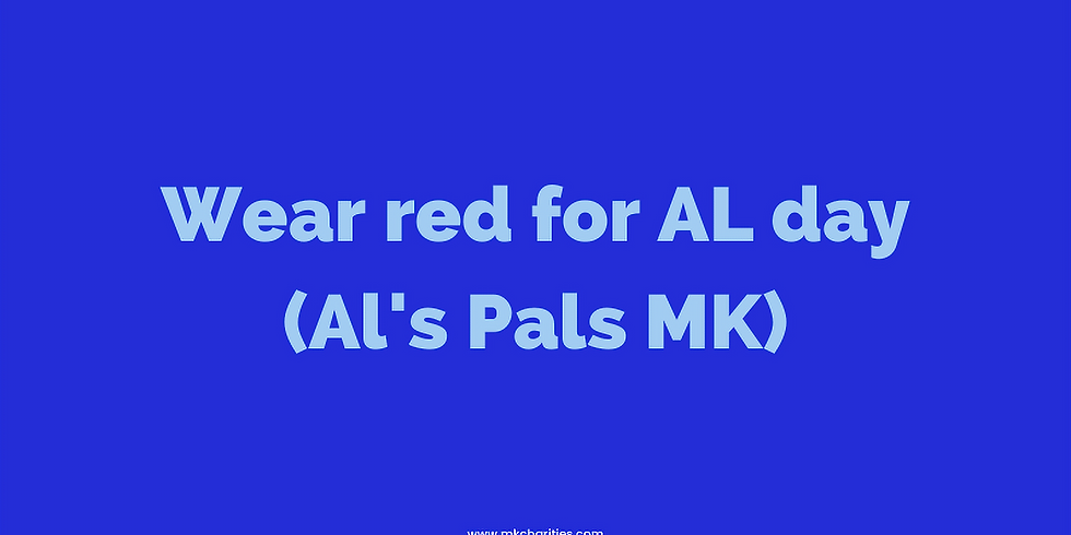 Wear red for Al day