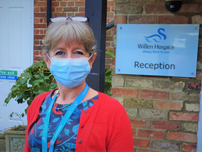 What it's like to be a Willen Hospice nurse in a global pandemic.