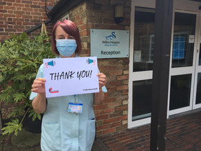 Willen Hospice say big thank you to volunteers