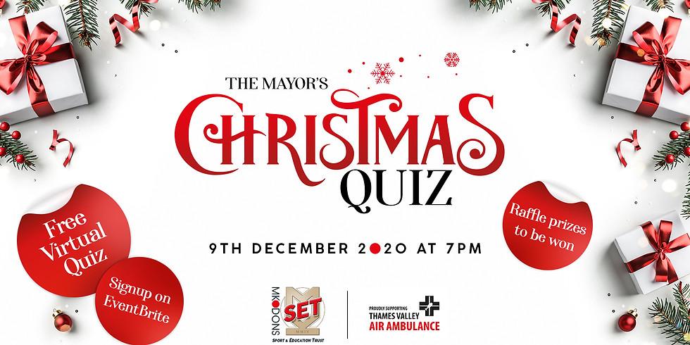The Mayor's Christmas Quiz